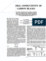 Conductividad Termica Del Negro de Humo