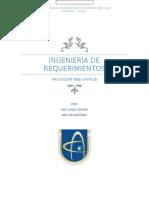 Ingenieria de Requerimientos [3173421]