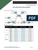 Calculo de VLSM y Diseño de Direccionamiento Básicos