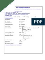 Riser Span Verification Analysis - Hydrotest