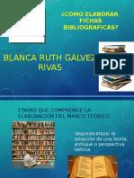 Fichas bibliograficas