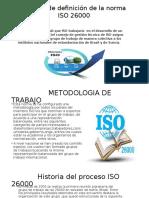 Proceso de Definición de La Norma ISO 26000