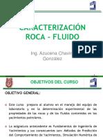 Caracterización Roca-Fluido