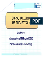 INTRODUCCION DE MS PROJECT