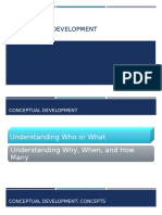 Conceptual Development