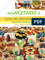 Rawcetario 2 Por Chirimoya Alegre