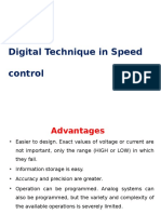SSD Digital technology in speed control