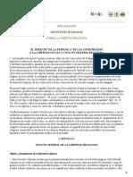 Dignitatis Humanae (Sobre La Libertad Religiosa)