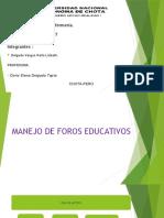 FOROS EDUCATIVOS 2