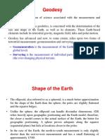 (GIS-2) Geodesy (1)