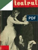 Revista Teatrul, nr. 6, anul VI, iunie 1961