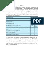 2.1.3 Requerimientos Para Instalación y 2.1.4 Instalación Del Software de BD en Modo Transaccional
