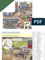 List of Car Parts Inside a Car Vocabulary