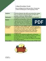 6-step procedure teach