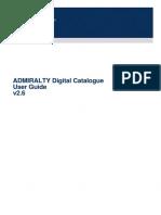 ADMIRALTY Digital Catalogue Help