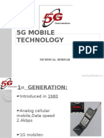 5g Mobile Technology Ppt