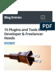 15 Plugins and Tools Every Developer & Freelancer Needs - WP Elevation