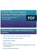 ABA - Critical Influences Shaping Australia's Financial Future