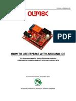 ESP8266 EVB How to Use Arduino
