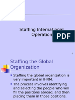 Lecture 6--Staffing International Operations