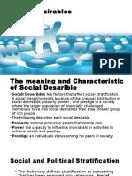 social desirables