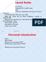 PMP Session Notes