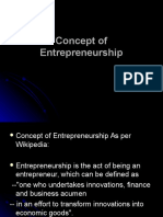 Theory of Entreprenure