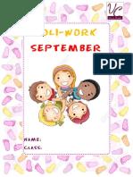 September Holi Work