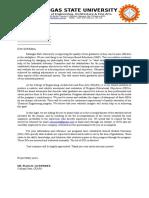 PEO Survey Form for Alumni