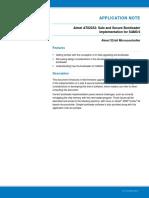 Atmel 42141 SAM AT02333 Safe and Secure Bootloader Implementation for SAM3 4 Application Note