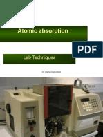 Atomic Absorption Spectroscopy 2016