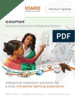 EduMax Interactive Whiteboard Eduboard