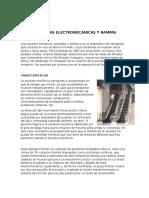 Escaleras y Rampas Electromecánicas