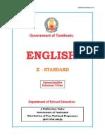 Std 10 English