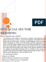 Financial Sector Reforms