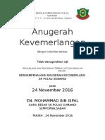Sijil Anugerah Cemerlang Skpl 2016