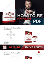 Alpha University - How to Be an Alpha Male Free Workshop Presentation