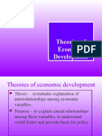 Theories of Economic Development (1)