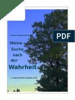 Sauerschnig Johann_Meine Suche Nach Der Wahrheit_20161110