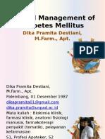 Clinical Management of Diabetes Mellitus