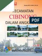 Kecamatan Cibinong Dalam Angka 2015