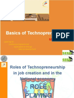 Basics of Technopreneurship