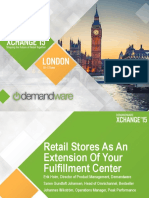 XCC EU 2015 Operations - Retail Stores as an Extension of Your Fulfillment Center