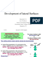 Development o Flateral Surfaces