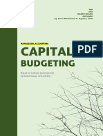 MAS - Capital Budgeting