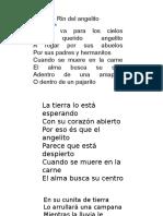 Rin Del Angelito Letra