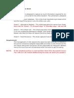 HR and Admin - Site Workbook