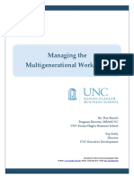Managing the Multigenerational Workplace White Paper