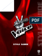 The Voice Internationaal Styleguide