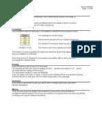 Excel Formulae (1)